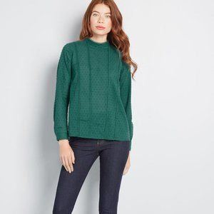 NWT ModCloth Long Sleeve Top - Size L
